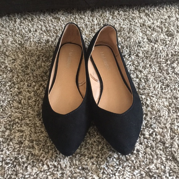Lane Bryant Shoes - Black pointed flats